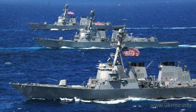 Союзники из 17 стран, корабли НАТО и США идут на украинские военные учения в Черное море