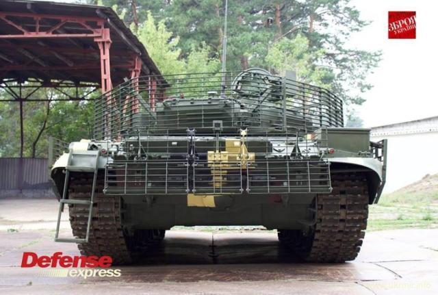 Украинский тюнинг Т-72АМТ