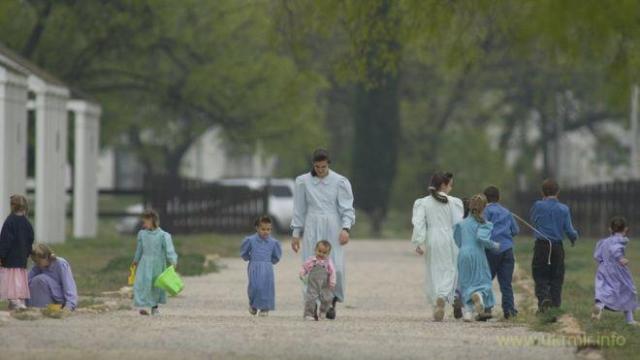 Повсякденне життя в комуні: чоловіки працюють, жінки доглядають дітей