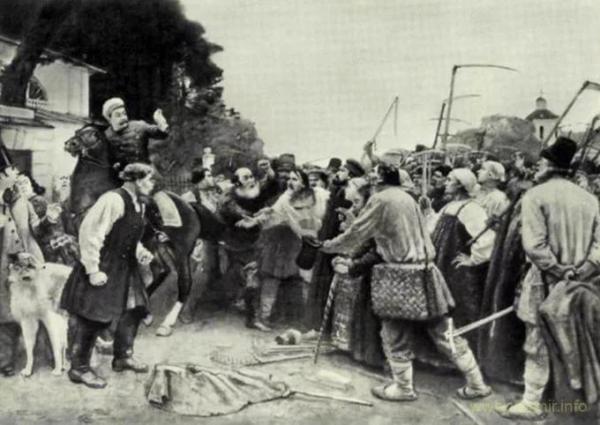 Как русские крестьяне с Cатаной воевали