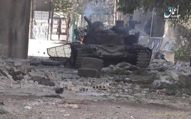 Россияне в Сирии потеряли редчайший модернизированный танк