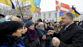 Князь Владимир, гетьман Сагайдачный и президент Порошенко