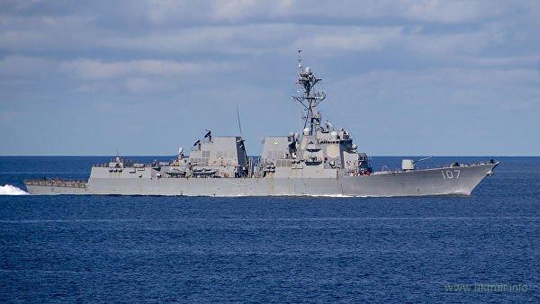 В Балтийское море зашел американский ракетный эсминец