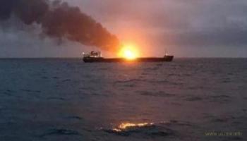 Причина пожара на кораблях в Керченском проливе