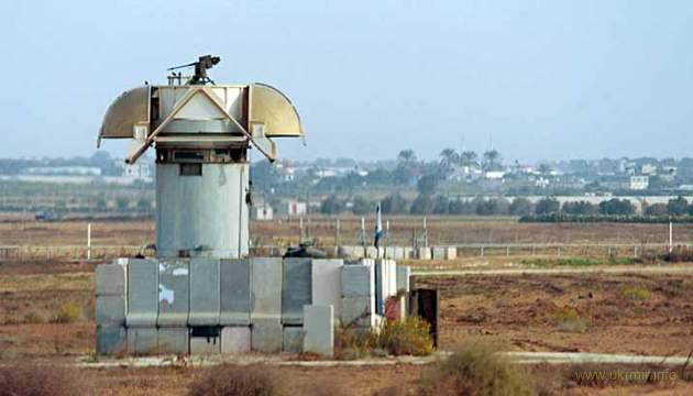 Израиль устанавливает на границе с Газой боевых роботов