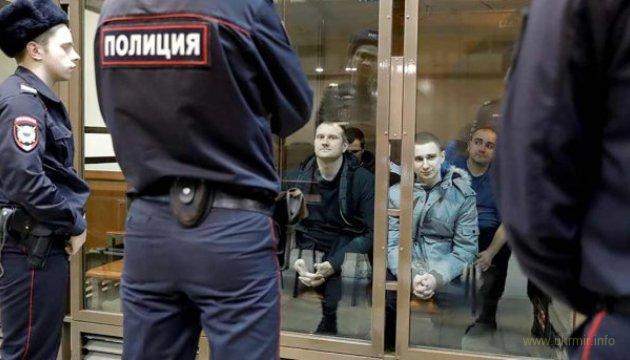 РФ предъявила обвинения 18 пленным украинским морякам