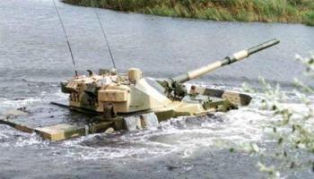 У оккупантов на Донбассе затонул танк и ликвидировано четверо наемников РФ
