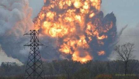 Донецк содрогнулся от мощного взрыва, население в панике