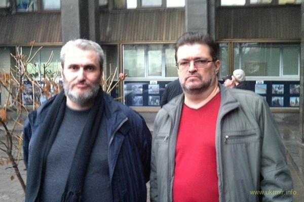 Отсидевший 12 лет в кремлевских застенках Борис Стомахин в свободном Киеве