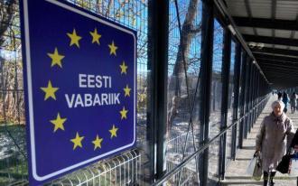 Эстония построила забор с РФ - колючая проволока и сигнализация