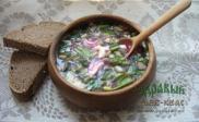 Рецепт окрошки Тюря