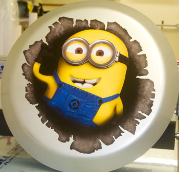 Minion Wheelcover