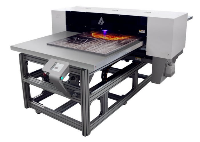 Atlantic to debut the AZON Leather Matrix printer at the Print Show