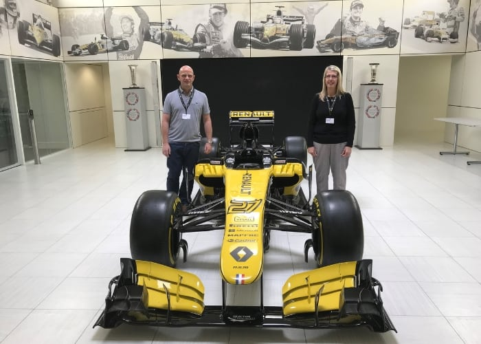 Roland and RenaultSport Formula One™ Team Make Dreams Come True
