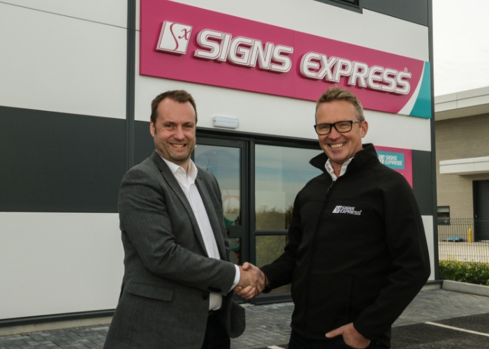 The City of Salisbury Welcomes Signs Express
