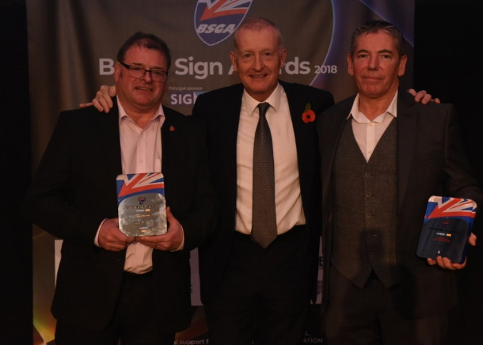 A GREAT CELEBRATION OF THE BRITISH SIGN INDUSTRY