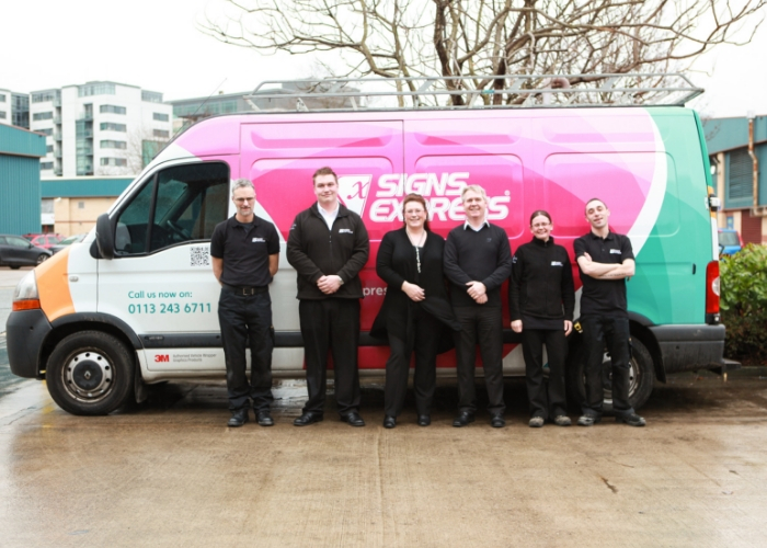 Signs Express (Leeds) named as best signage company in city