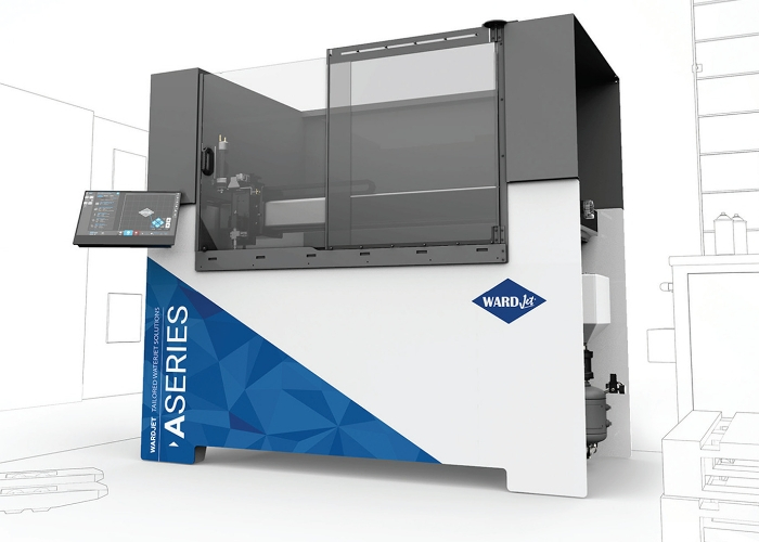 AXYZ adds small-format option to range of waterjet cutting machines