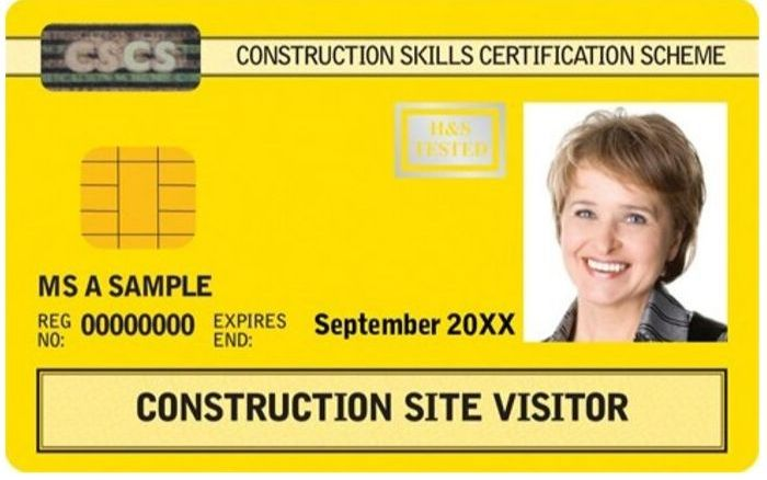 CSCS to withdraw Construction Site Visitor card