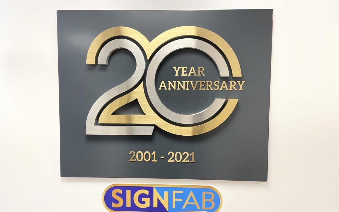 ISA UK Member SignFab Celebrates 20 Years