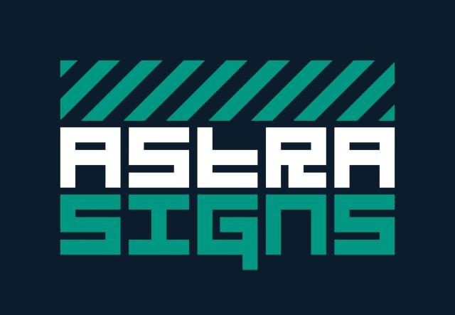 ISA-UK Member Astra Signs Stacked Logo