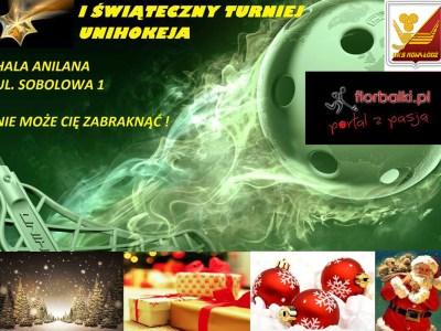 ŁÓDŹ I Świąteczny Turniej Unihokeja florbalki.pl