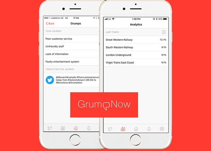 , Public transport woes? Feeling grumpy? New app urges you to 'GrumpNow'