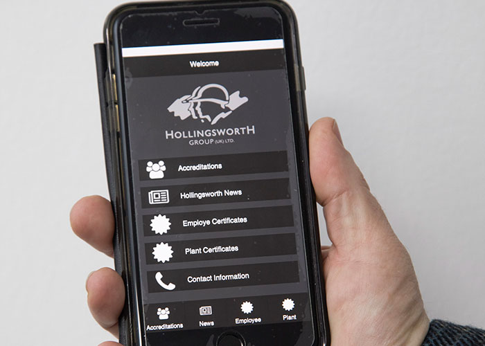 Construction firm celebrates 30 year anniversary with Health & Safety app