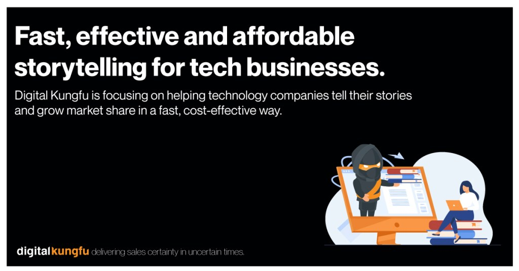 Fast, effective and affordable storytelling for tech businesses