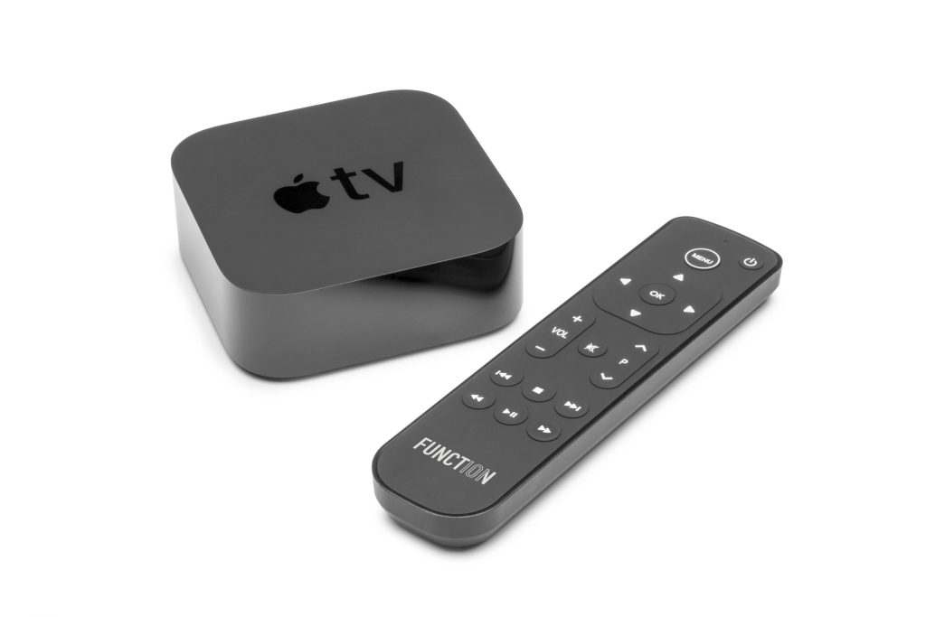 The Function101 Button Remote for Apple TV is now available in the UK