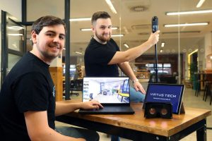 Young Cardiff entrepreneurs see VR and AI business prosper in the pandemic