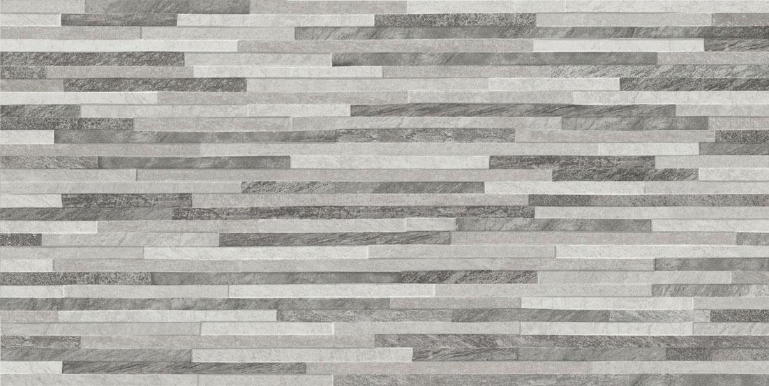 Azulev Direction Grey Slate-Effect Ceramic Wall Tile