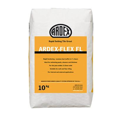 ardex flex fl rapid set flex cement grout cast iron 10kg 03653