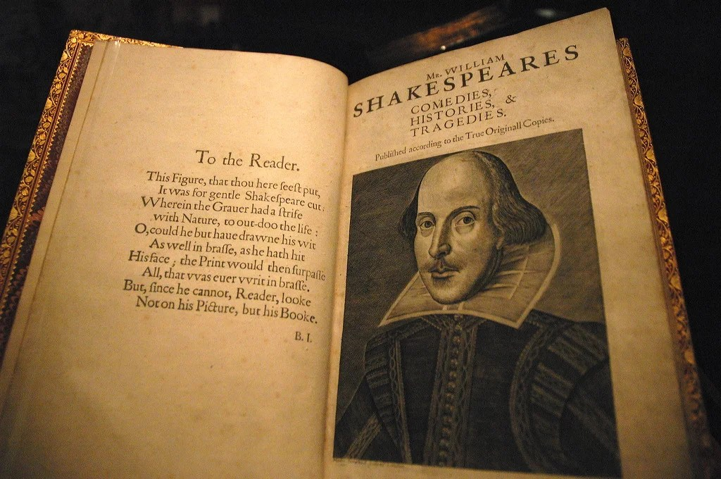 Image result for Shakespeare's First Folio
