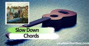 Why Don't We – Slow Down Ukulele Chords