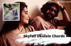 Skyfall Ukulele Chords By Helloween