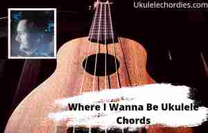 Read more about the article Where I Wanna Be Ukulele Chords By Eric Church