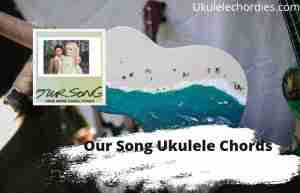 Our Song Ukulele Chords By Anne-Marie & Niall Horan