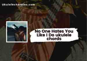 Read more about the article No One Hates You Like I Do Ukulele chords by Jeremy Zucker