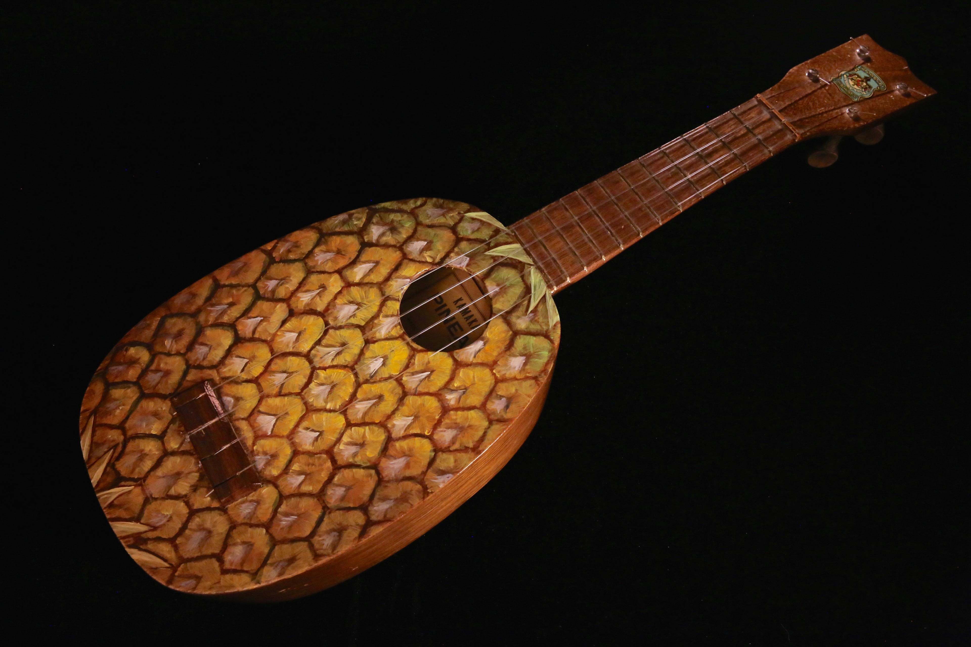 Image result for 1920's pineapple ukulele