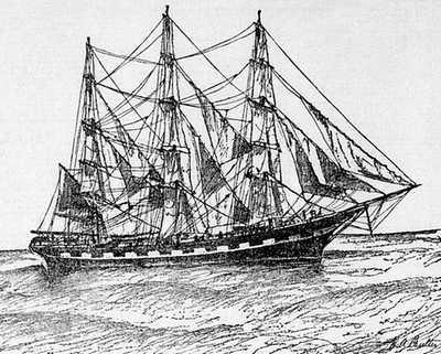 Navire Le Ravenscrag