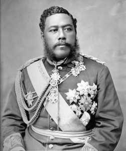 Le Roi David Kalakaua de Hawaii