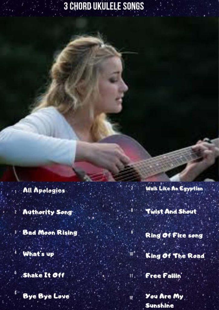 3 Chord Ukulele Songs: Easy 25 Beginner Songs - Ukuleles Review
