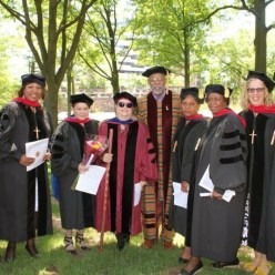 The D.Min. Graduates of 2015. I'm the one with the sunglasses and walking stick! (As if you didn't know.)
