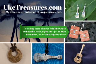 My own curated collection of ukulele treasures. For you!