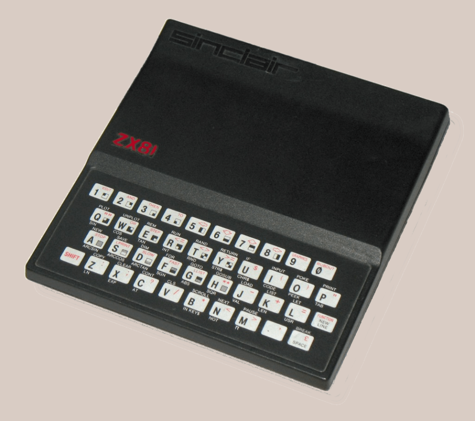 ZX-81. This is where it all started.