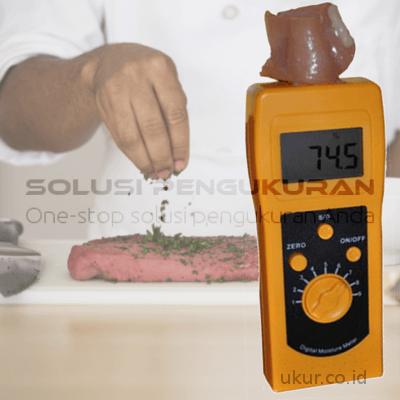 Alat Ukur Kelembaban Daging DM300R