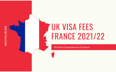 How much is the UK Visa Application Fee 2021 in France?