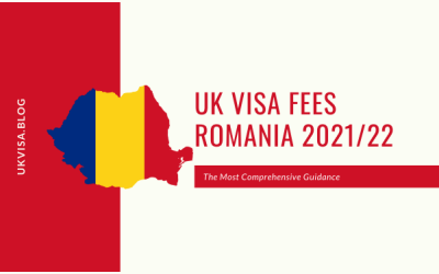 How much is the UK Visa Application Fee 2021 in Romania?