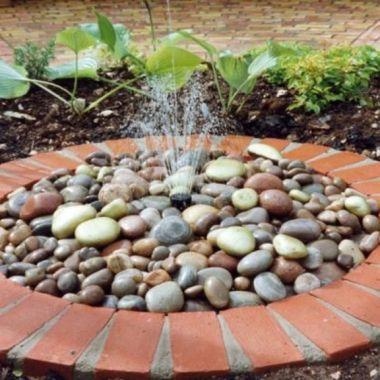 indoor outdoor water features